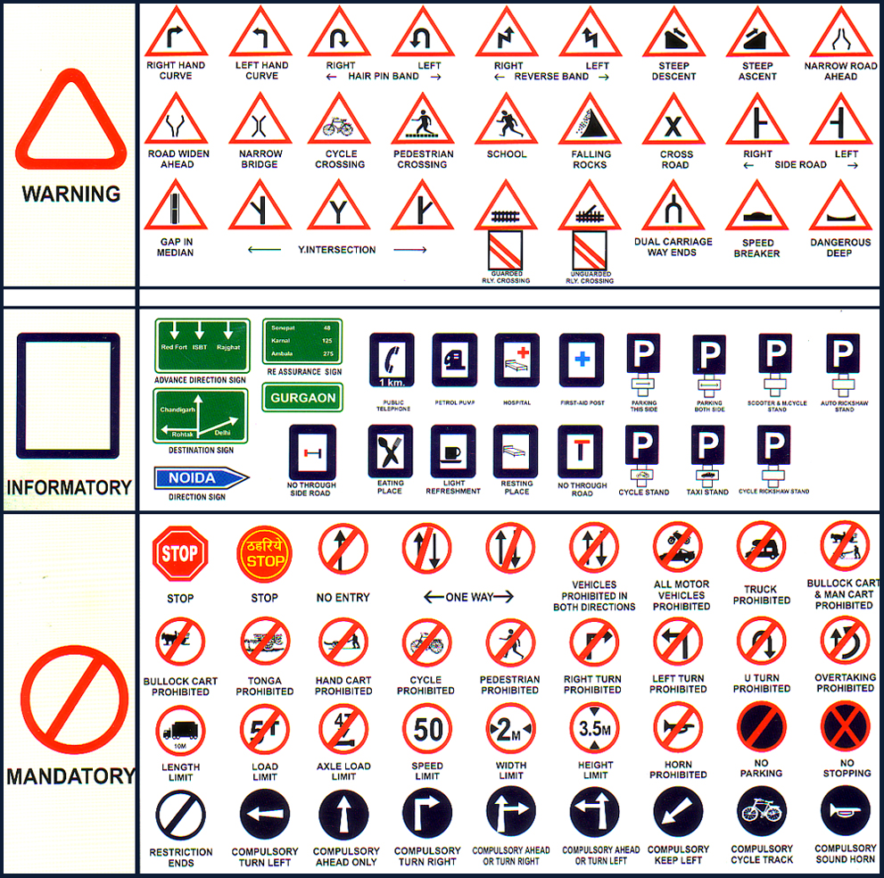 indian traffic signs and meanings wwwimgkidcom the